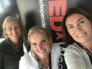 Anneke Brouwer Organizer And Systemic Public Speaking Coach with Team TEDxWassenaar